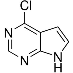 4-Chloro-7H-pyrrolo[2,3-d]pyrimidine CAS 3680-69-1