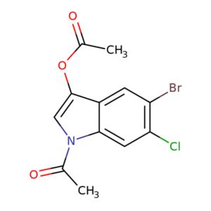5-Bromo-6-chloro-3-indolyl-1,3-diacetate CAS 108847-96-7