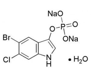 5-Bromo-6-choro-3-indolylphosphate disodium CAS 404366-59-2